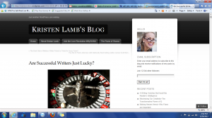 Kristen Lamb's Blog-Screenshot